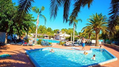 Photo for Luxe Sanitary XL 6 Pers. Villatent  at 4-star campsite in the Côte d'Azur