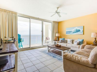 Photo for Unit 1813: New Ocean Front Condo at the Majestic! This 1 BR / 1 BA (Sleeps 4)