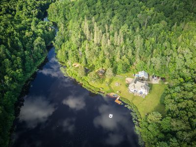 Photo for Private Lake, Pet Friendly, Luxury Family Retreat, sleeps 14- super inclusive
