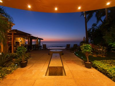 Photo for Coldwell Banker Managed Luxury Beachfront Villa 5 Mins. to Town!