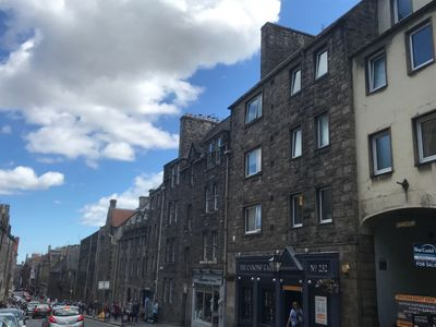 Photo for Spacious Apartment on the Historic Royal Mile in Edinburgh's Old town