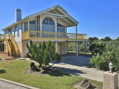 Photo for Enjoy Ocean views and breezes from your second story covered deck