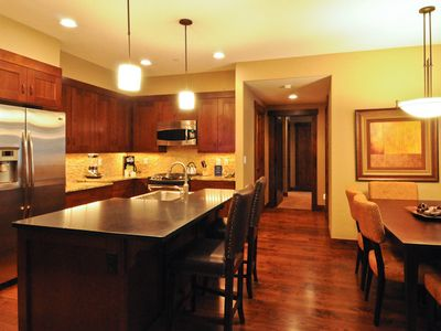 Photo for Luxury 3 BR Condo in Waterhouse Just Steps to Slopes and Restaurants