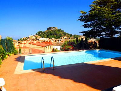 Photo for 2 bedroom Apartment, sleeps 4 in Begur with Pool and WiFi