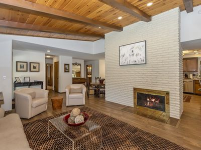 Photo for Mountain Chic: Central Location! Hot Tub! Stainless Steel Appliances! Game Room!