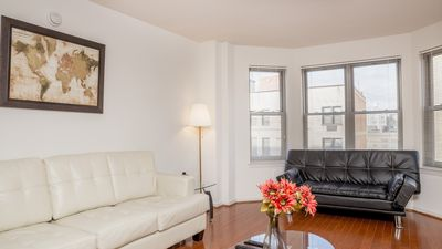 Photo for Spacious Suite with 24h Gym Access, Full Kitchen, Netflix, Business Center!
