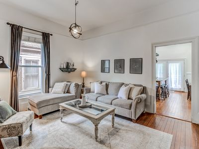 Photo for 10 Min Walk Downtown from Historic Oakwood Home with Private Deck