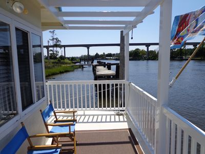 Photo for Waterway-Floating Condo -Intracoastal Waterway-Gateway to the Outerbanks.