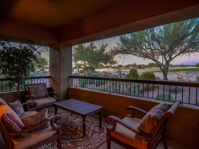 Photo for Beautiful GOLF COURSE views in Bella Monte 1ST FLOOR
