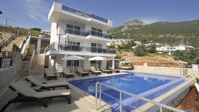 Photo for Villa Mavi Su is a 5 Bedroom Villa With Amazing Panoramic Views Over Kalkan Town