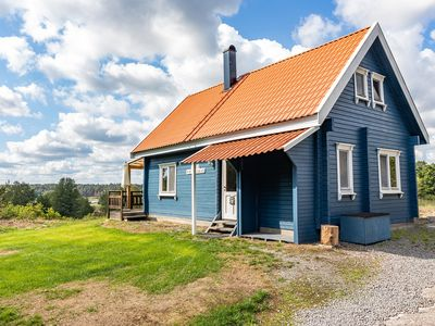 Photo for Cottage Saltkråkan directly on the Baltic Sea, ideal for fishing and recreation