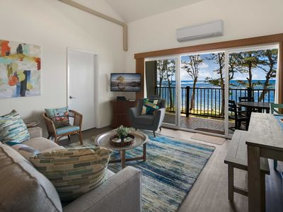 Photo for Oceanfront Resort Condo w/ A/C in Old Town Kapa'a!