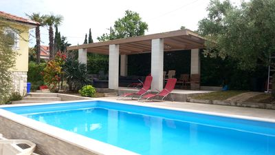 Photo for Beautiful holiday home with pool, whirlpool and sauna, 400m to the beach, WiFi