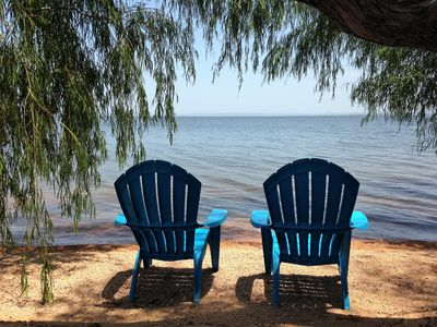 Photo for Lakefront Log Cabin 9 on the Beautiful Shores of Lake Buchanan