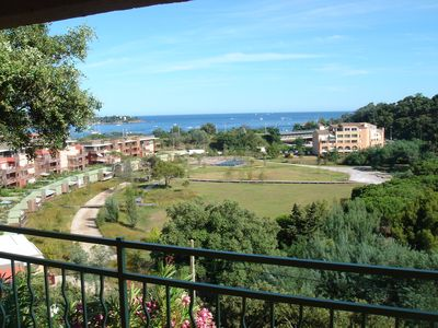 Photo for New 110m2 flat in a villa with a very beautiful view