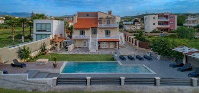 Photo for Grecian Villas - Villa Poseidon,  Beachfront  & private pool