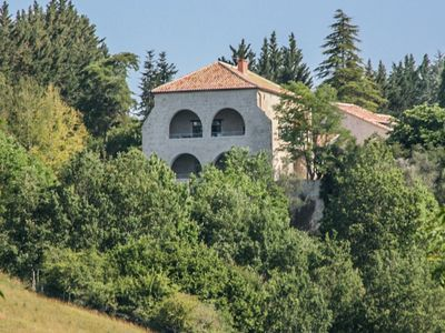 Photo for Pleasant gite on a quiet domain with large swimming pool and a park-like garden.