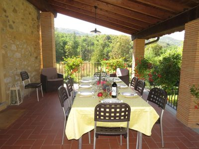 Photo for Newly Restore Barn With Private Pool  View Of hills,  4/5 bedrooms 5 bathrooms