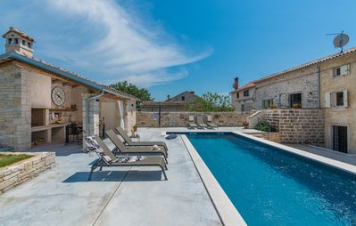 Photo for Beautiful restored holiday home with pool near Rovinj