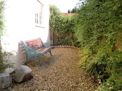 Lovely sunny private courtyard