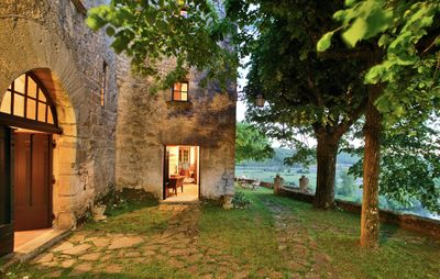 Photo for Charming manor house in historic village. Beautiful heated pool.