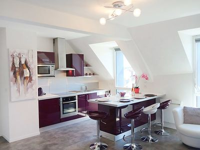 Photo for Apartment La Passerelle in Saint Malo - 4 persons, 2 bedrooms