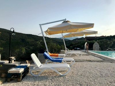 Photo for independent in the Mediterranean vegetation - Resort in Sardinia -