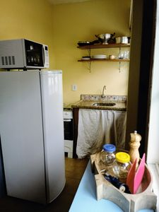 Photo for Captain's Refuge - Apt 6 - One block from the sea