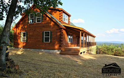 Photo for ★See 4 States From The Deck★Sleeps 16+★210 Acres