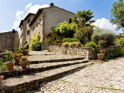 Photo for Cottage Pino Rural Tuscan retreat in Stunning Hilltop castle