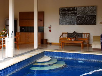 Photo for 1 BR Romantic Private Pool Villa in Ungasan Near GWK Cultural Park
