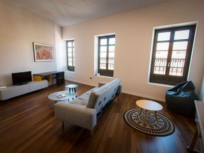 Photo for Premium Souviron apartment in Centro with WiFi, air conditioning & lift.