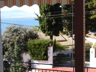 Photo for Cosy Malaga apartment (fibre-optic wifi), great views of bay and mountains UK TV