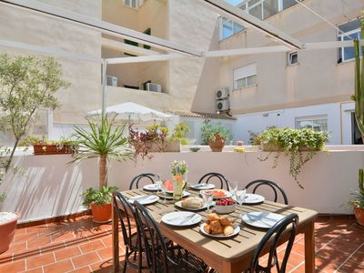 Photo for Beautiful Spanish Townhouse Close to the Beach