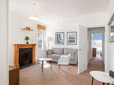 Photo for Airy 2-Bed Flat w/Terrace in Clapham South