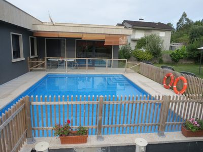 Photo for Modern tourist housing with pool, garden, barbecue, and optional jacuzzi