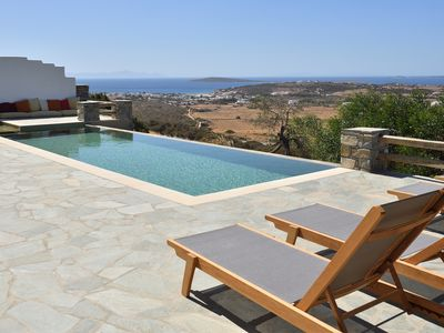 Photo for Villa Mandarin with private swimming pool and amazing view at the sea