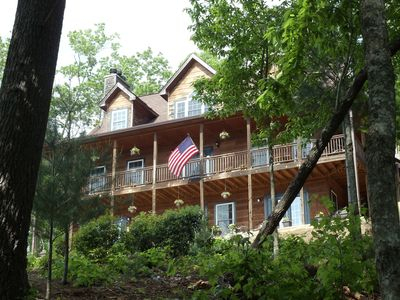 Photo for An entire 6BR Adirondack style B&B, Sunset Mountain Views, & Gourmet Breakfasts