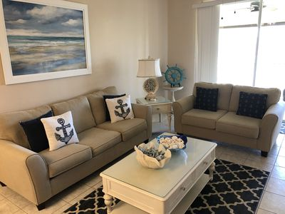 Photo for BEAUTIFULLY  FURNISHED AND DECORATED CONDO IN STONEYBROOK GATED GOLF COMMUNITY