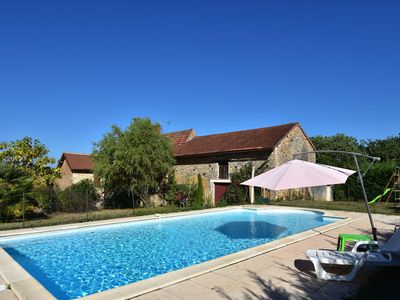 Photo for Cozy Holiday Home in Besse with Swimming Pool