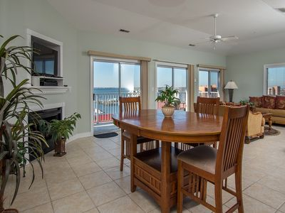 Photo for Beautiful Views of Bay & Marina - 2 Blocks from North End of Boardwalk!