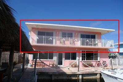 Largo Lookout is the apartment located on 2nd floor (see area in red outline)