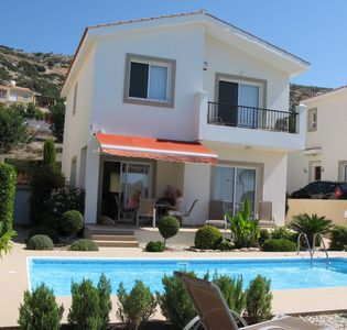 Photo for Three Bedroomed Villa With Private Heated Pool and Sea Views. Sleeps 6