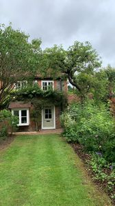 Photo for Cosy 18th Century Cottage.  Backs onto Golf Course, Village location.