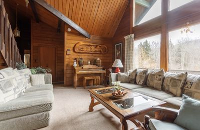 Photo for Beautiful Mountain View and River Front Chalet