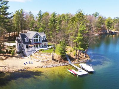 Photo for Exceptional Waterfront Retreat With Sandy Beach ~  (W kayaks!)