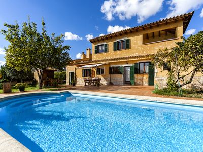Photo for Peaceful location with pool – Casa El Pontón