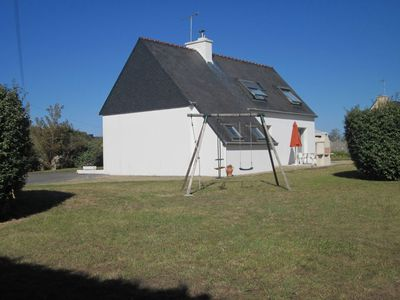 Photo for Loctudy: House 800 meters from the beach, quiet with large enclosed area **** 6 ***