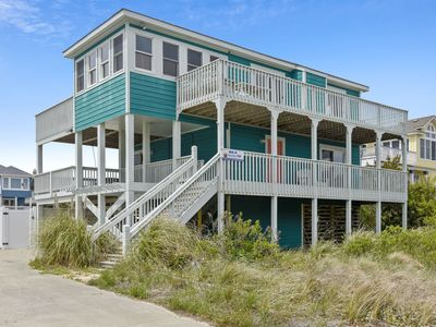 Photo for SEMI OCEANFRONT Outstanding OCEAN VWS! Pool, HotTub, fenced in yard for dogs!