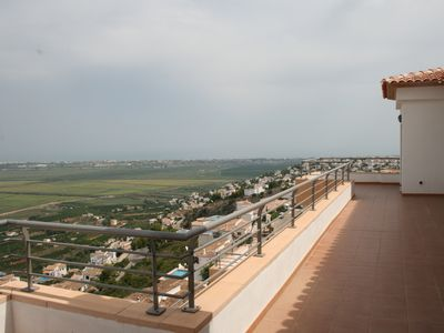 Photo for Stunning 3 bedroom Penthouse with Panoramic views Pego, Com. Valenciana, Spain